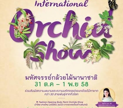 Chiangmai  Flora 2015 International Orchid   Show