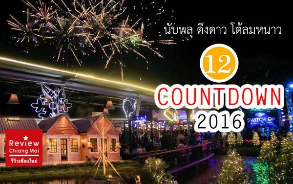 12 ที่นับพลุ ดึงดาว โต้ลมหนาว Countdown 2016