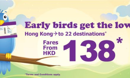 HK Express Early birds gat the low-fares