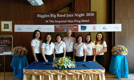 Biggles Big Band Jazz Night 2018  AT THE IMPERIAL MAE PING HOTEL