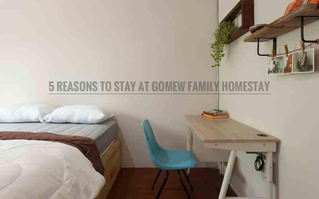 5 ข้อดีของการพักที่ Gomew Family Homestay ที่เชียงใหม่