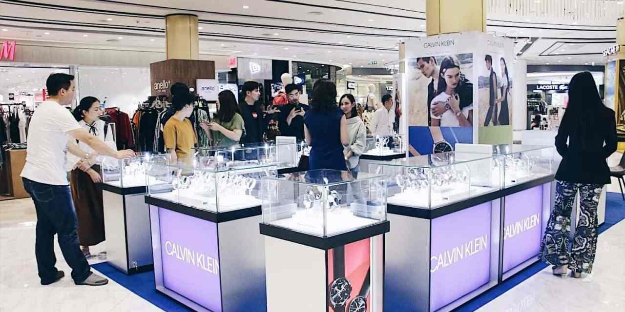 "MAYA Lifestyle Shoping Center ฉลองเปิดร้านใหม่ ""Calvin Klein ช็อปนาฬิกาและเครื่องประดับ"""