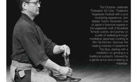 """ต้อนรับเทศกาลกินเจ พลาดไม่ได้กับ """"Art & Mindfulness of Shojin Cuisine"""""""