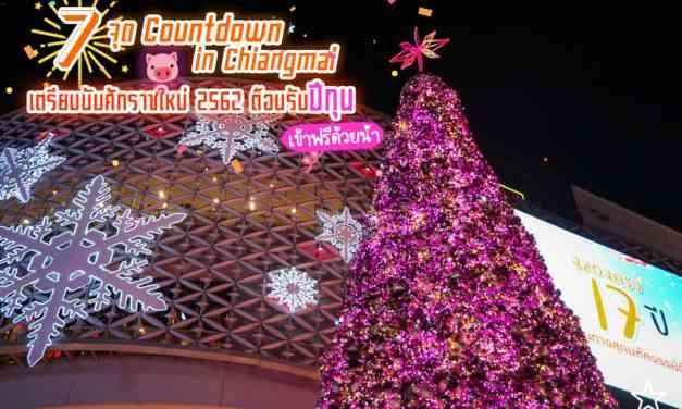 จัดไปกับ 4 จุด Countdown in Chiang Mai เตรียมนับศักราชใหม่ 2562 ต้อนรับปีกุน 🎉 ไฟมิบๆ กระจุ๊บกระจิ๊บน่ารัก