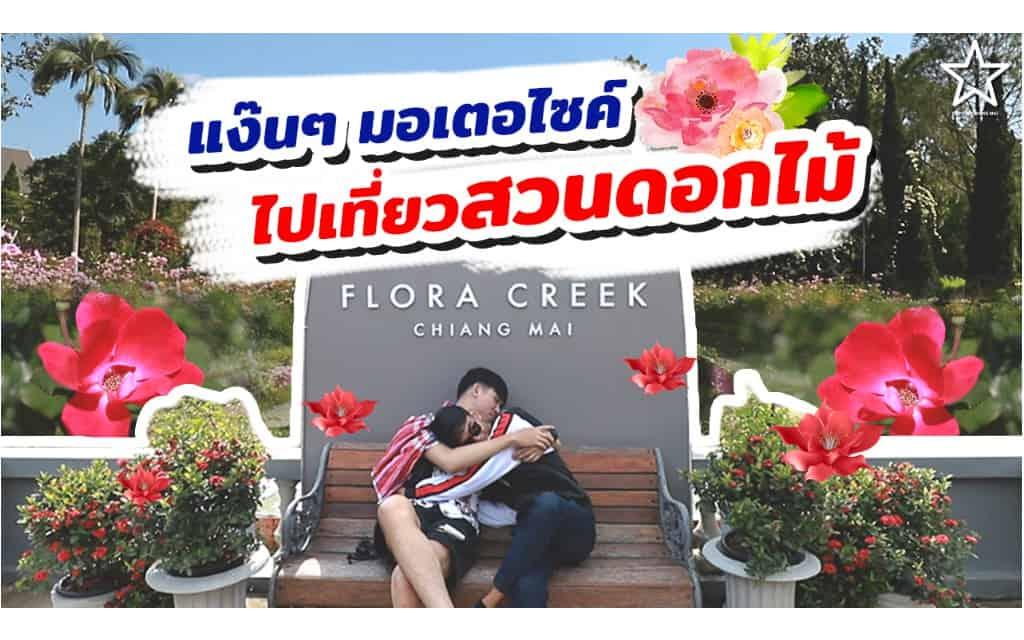 สวนดอกไม้เข้าชมฟรี Flora Creek, Chiang Mai