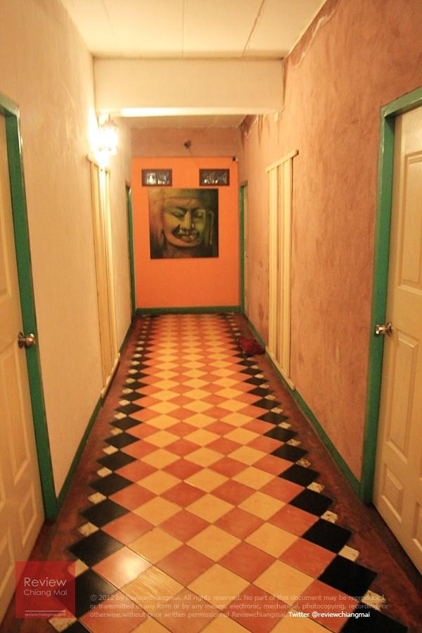 ทางเดินเข้าที่พัก เกรซ บูติค เฮ้าส์