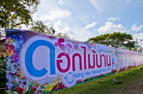 """เปิดแล้วงานอัศจรรย์ดอกไม้บาน 2012 """"Chiang Mai Miracle Flora 2012"""""""