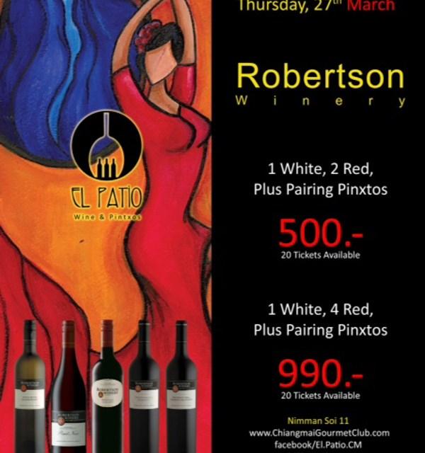 Wine Savouring at El Patio กับไวน์จากแอฟริกาใต้