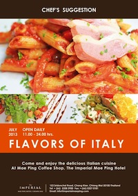Flavor of Italy, July 2013 @ Mae Ping Coffee Shop, The Imperial Mae Ping Hotel