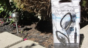 Giveaway: Panasonic Sport Earbuds!