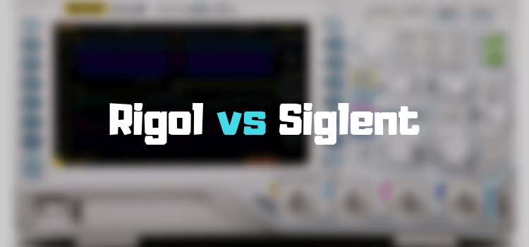 Rigol vs Siglent