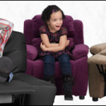 kids sitting in a chair