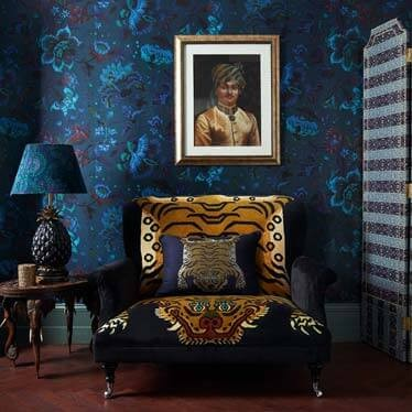 Wallpaper Zuber Arrives At Bergdorf Goodman