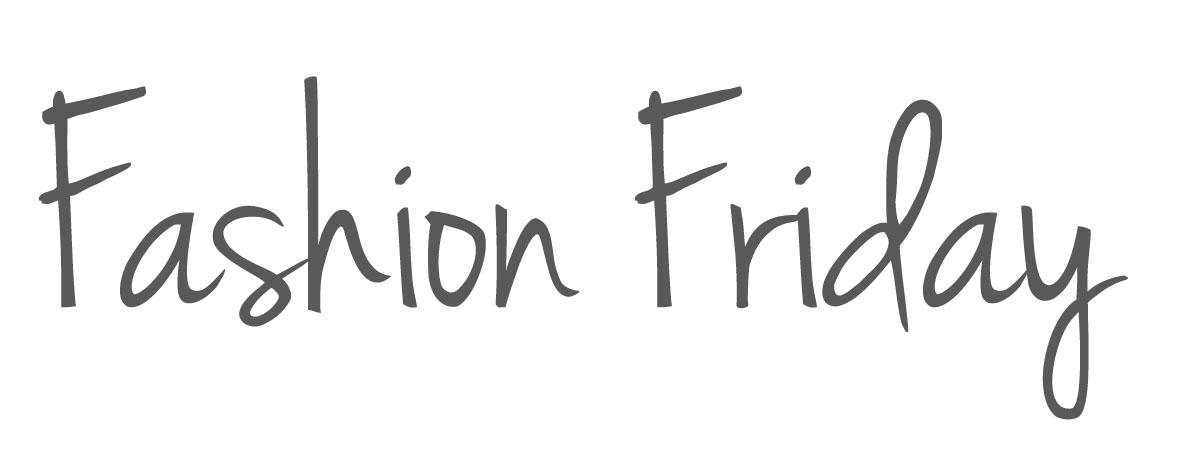 Happy Fashion Friday 11/2/2018!