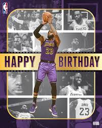 Happy 34th Birthday Le Bron James!