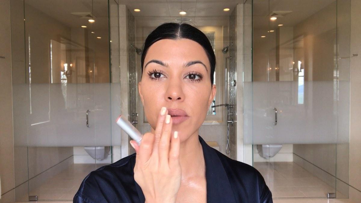 Kourtney Kardashashian's  SkinCare Routine