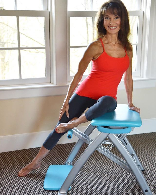 Susan Lucci And Pilates PRO Chair