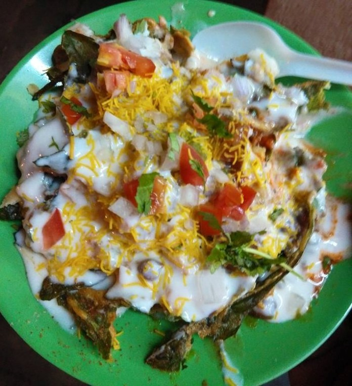 Palak chat at Chaat House JP Nagar 2nd Phase