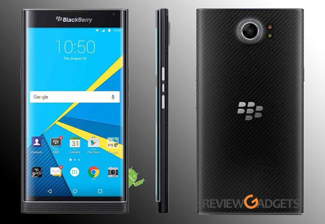 Blackberry Priv Design