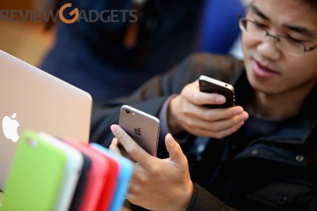 Beijing bans iPhone 6