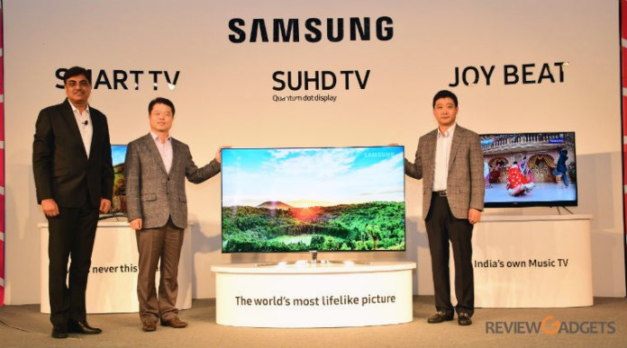 Samsung India Launches 44 New TV Models