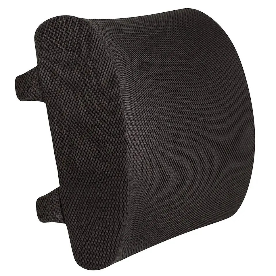 posture corrector for office chair wedding covers melbourne 7 great lumbar cushions supporting your back while you work – review geek