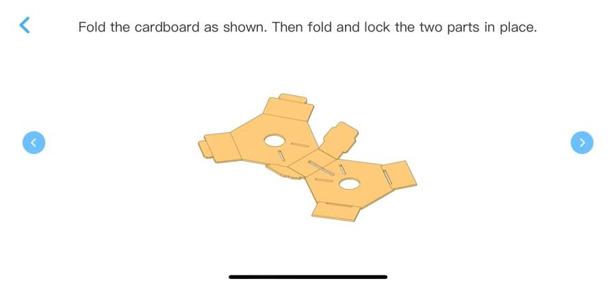 A Screenshot of the Makeblock Neuron App Kit Instructions