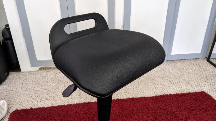 A closer look at the Active Seat's, uh, seat