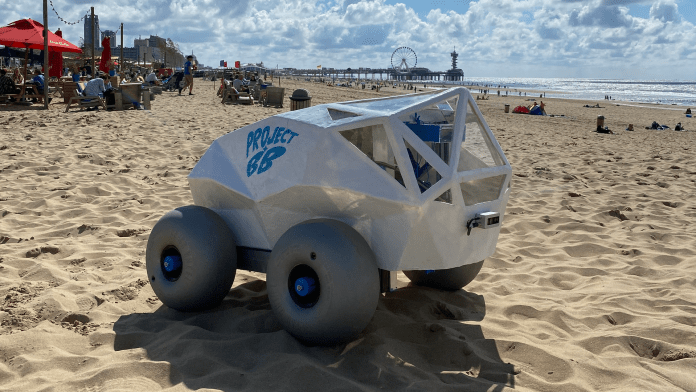 Project BB's litter-collecting Beach Bot.