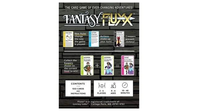 Fantasy Fluxx Card Game