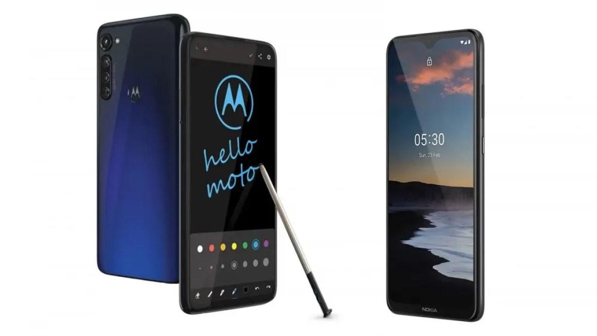 Moto G Pro и Nokia 5.3 - отличные недорогие устройства Android One.