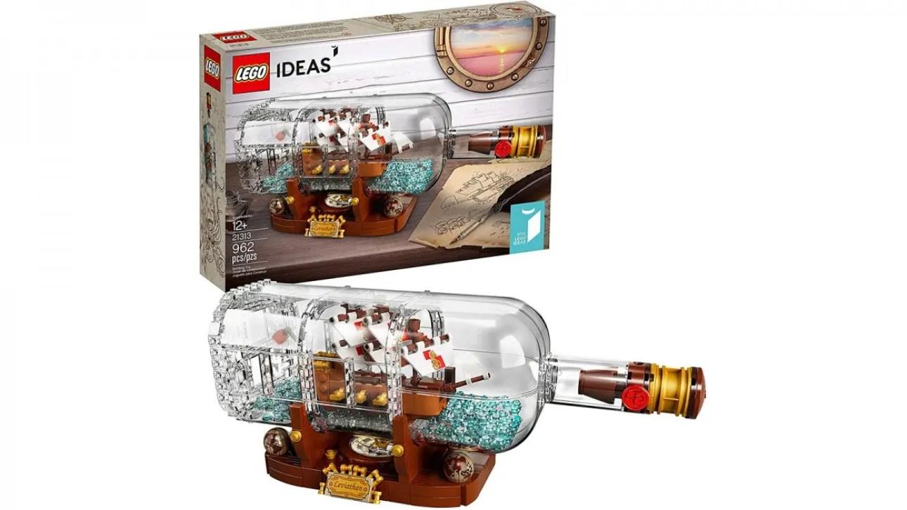 LEGO Ideas Корабль в бутылке