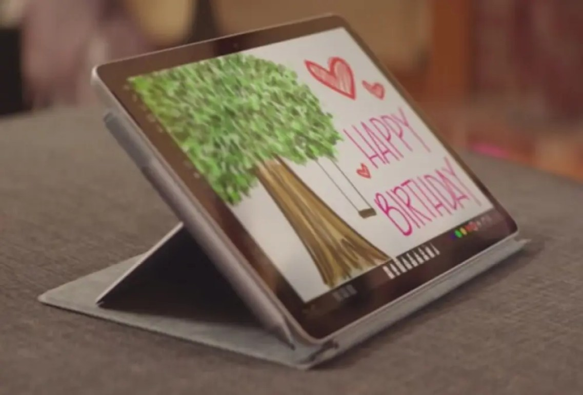 Surface Go 2 в режиме планшета