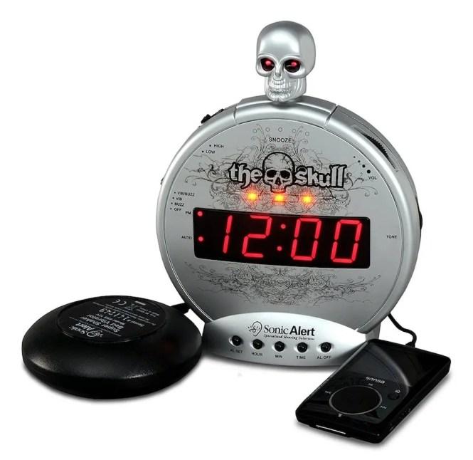 6 Best Alarm Clocks For Deep Sleepers