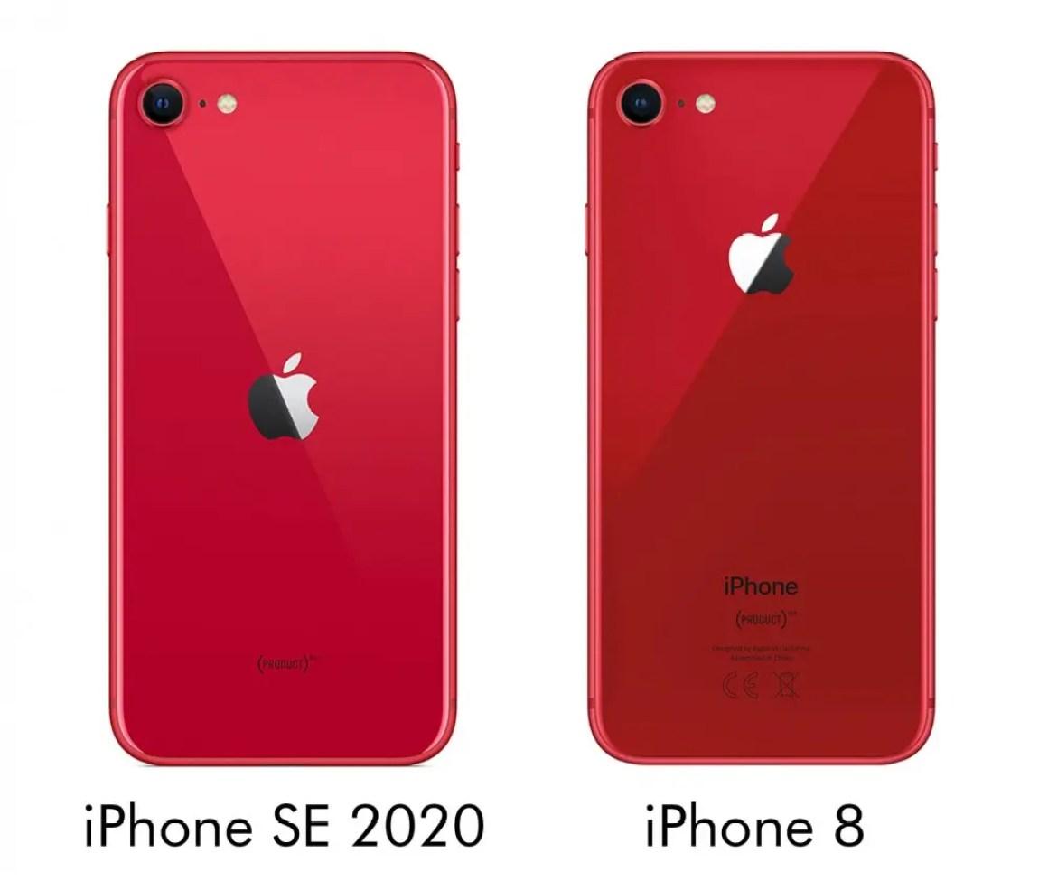 Сравнение iPhone SE 2020 и iPhone 8