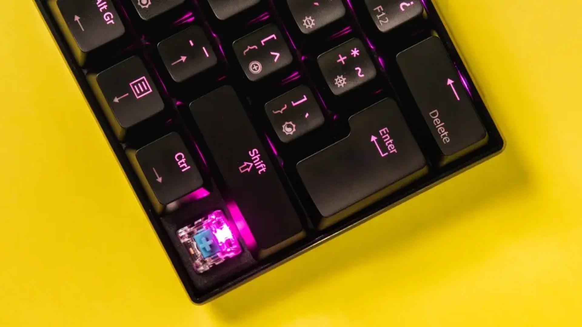 Mechanical keyboard photo