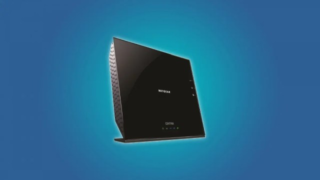 NETGEAR N900 Router with 2 TB of built-in storage