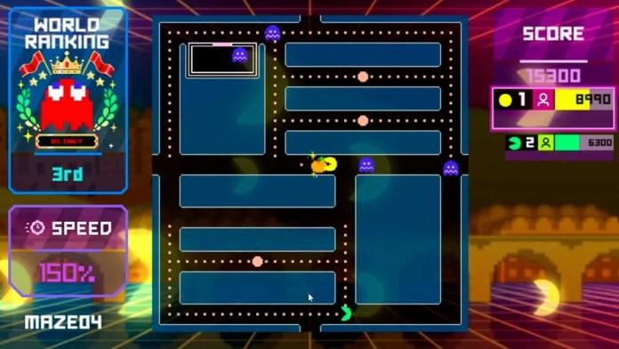 A screenshot of the Pac-Man Live Studio game.
