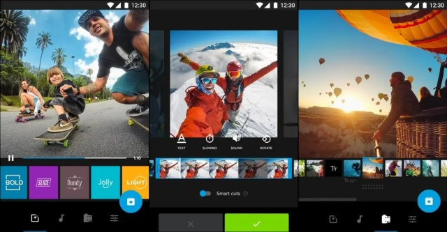The GoPro Quik smartphone editor offers more options and a better interface than all the alternatives.