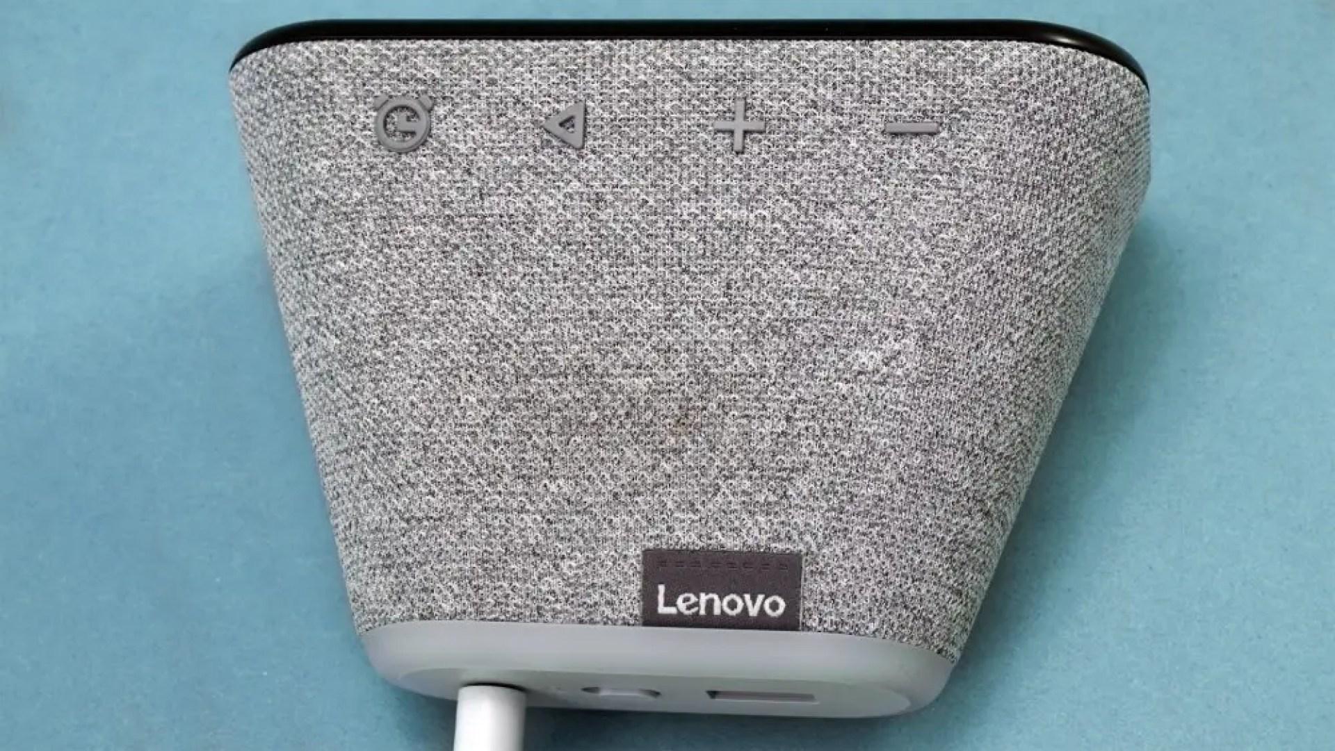 Lenovo Smart Clock Essential buttons
