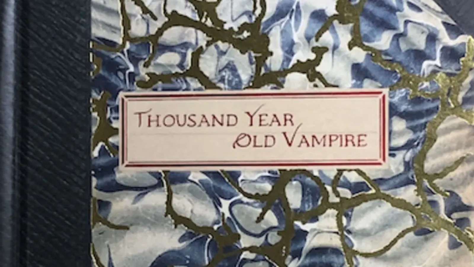 The book that contains the Thousand Year Old Vampire RPG