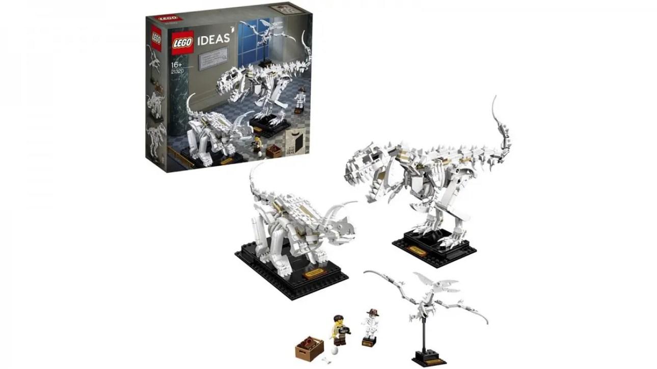 Идеи LEGO Окаменелости динозавров