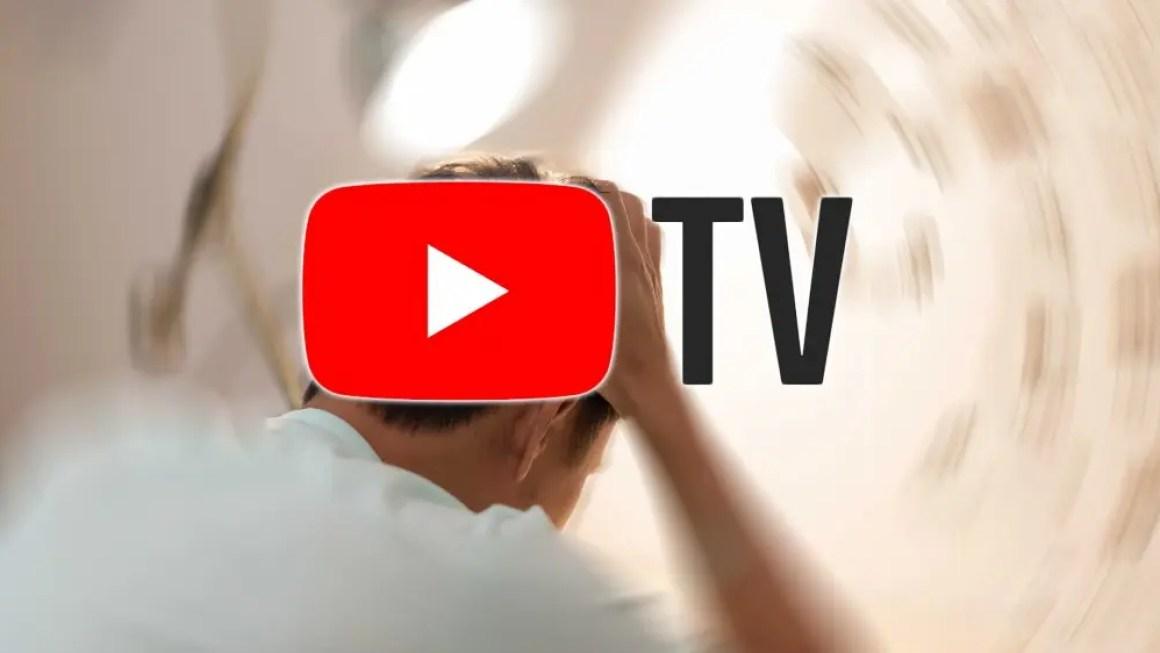 Мужчина узнает о мигрени, услышав о повышении цен на YouTube.