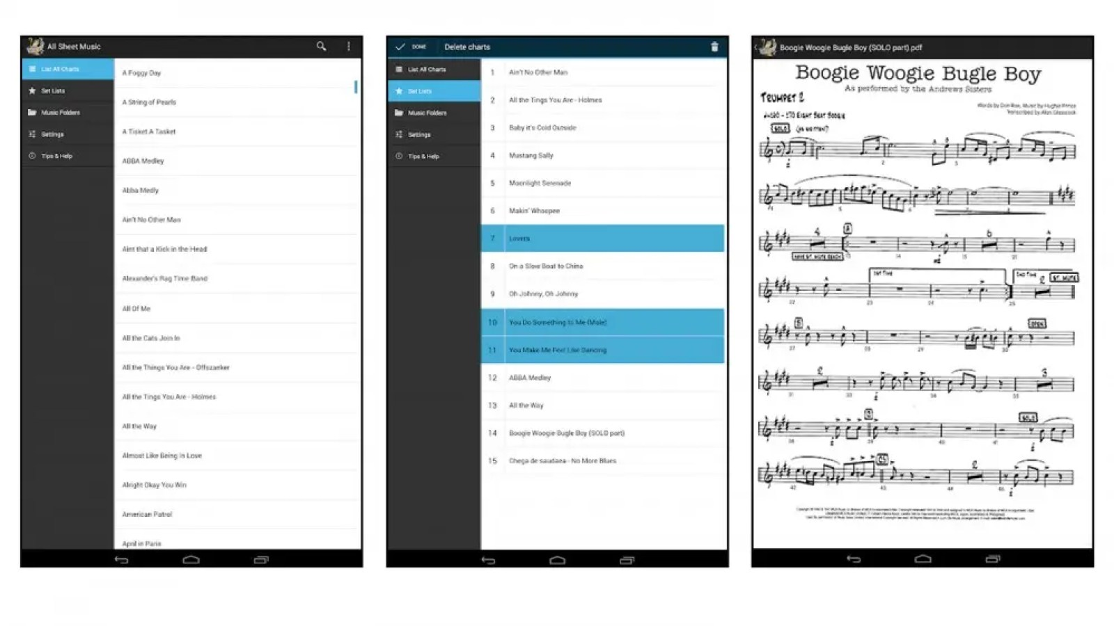 Orpheus app for android users