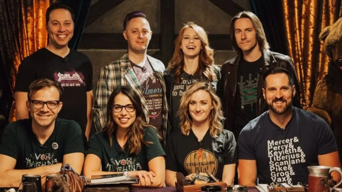 Critical Role Dungeons & Dragons web series cast