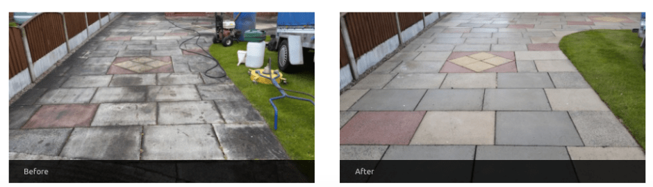driveway cleaning cheshire