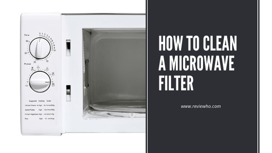 clean your microwave grease filter