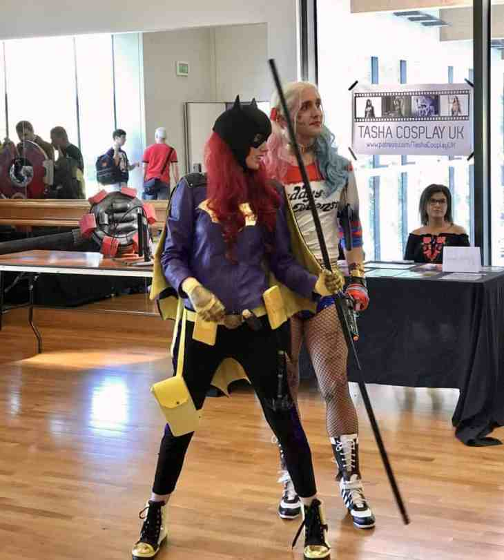Batwoman and Harley Quinn