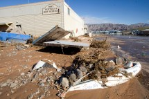 Flood Shuts Lake Mead Marina Las Vegas