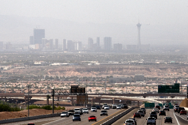 Las Vegas Valley gets'F' for ozone pollution | Las Vegas Review ...